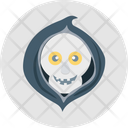 Halloween Skull Scary Evil Ghost Frightening Icon