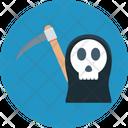 Halloween Skull Scary Evil Ghost Evil Icon