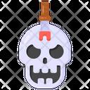 Skull Candle Skull Ghost Skull Icon