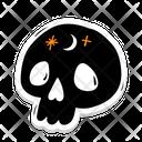 Halloween Skull Skull Halloween Icon