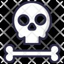 Skull Bone Zombie Icon