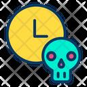 Time Skull Horror Icon