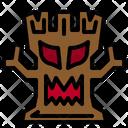 Halloween Tree Tree Monster Icon