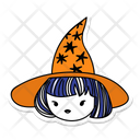 Halloween Witch Magic Wand Witch Icon