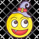 Halloween Witch Emoji Icon