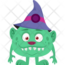 Halloween Wizard Icon