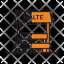 Halte Icon