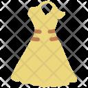 Halter Dress Ladies Icon