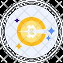 Halving Bitcoin Halving Bitcoin Icon