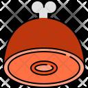 Ham Meat Chicken Icon