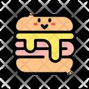 Ham Cheese Sandwich Sandwich Cheese Icon