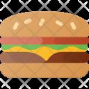 Hamburger Fast Eat Icon