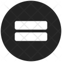 Hamburger Lines Menu Icon