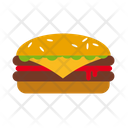 Hamburger Burger Meat Icon