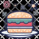 Petty Burger Sandwich Burger Icon