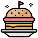 Hamburger Burger Sandwich Icon