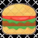 Hamburger Burger Junk Food Icon