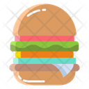 Ahamburger Jambo Burger Cheesy Burger Icon