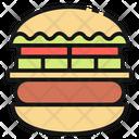 Hamburger United States America Icon