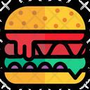 Hamburger Bread Fast Icon