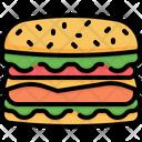 Hamburger Burger Fastfood Icon