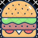 Hamburger Burger Petty Icon