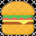 Burger Hamburger Cheeseburger Icon