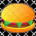 Burger Hamburger Beefburger Icon