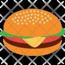 Hamburger Burger Chicken Icon