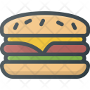 Hamburger Fast Food Icon