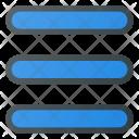 Hamburger Menu Interface Icon