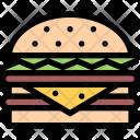 Hamburger Food Drink Icon