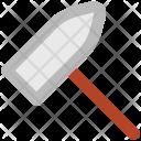Hammer Hit Construction Icon