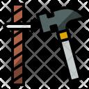 Hammer Nail Tools Icon