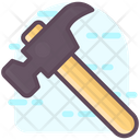 Hammer Woodcutting Cutting Tools Icon
