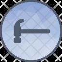 Hammer Hand Construction Icon