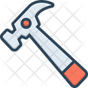 Hammer Instrument Tool Icon