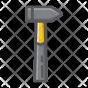 Hammer Carpentry Construction Icon