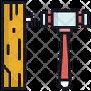 Carpenter Hammer Tool Icon