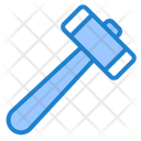 Hammer Tool Construction Icon