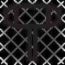 Hammer Work Building Icon