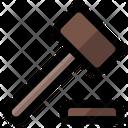 Ceo Hammer Judge Icon