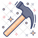 Hammer Claw Hammer Carpenter Tool Icon