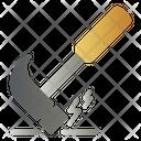 Hammer Equipment Tool Icon