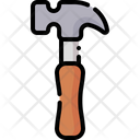 Hammer Home Repair Improvement Icon