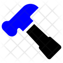 Carpenter Hammer Outline Icon