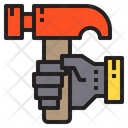 Hammer Repair Service Icon
