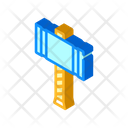 Viking Hammer Weapon Icon