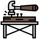 Hammer Home Repair Carpenter Icon