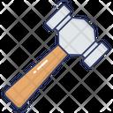 Hammer Tool Equipment Icon